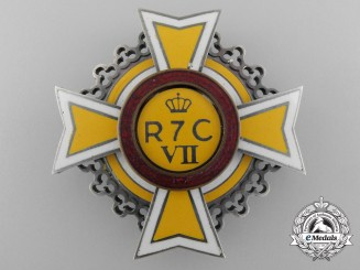 A Rare Second War 7th Romanian Calarasi Infantry Botosani Regimental Badge