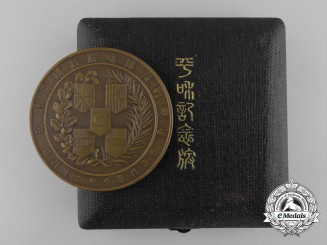 Japan, Empire. A Victory Table Medal, Taisho 8 with Case, c.1919