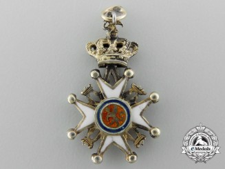 A Fine Miniature Royal Norwegian Order of St. Olav