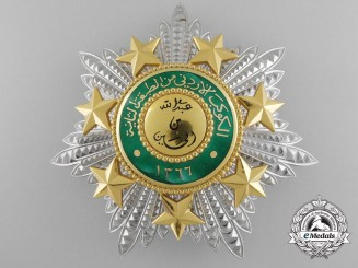 An Order of the Star of Jordan 1949 (Wisam al-Kawkab al-Urduni 1366) Breast Star