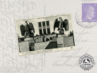 A 1943 Nuremberg Rally Postcard