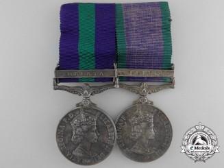 A General Service Pair to the 2nd Battalion, 2nd Gurkha Rifles