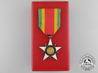 A Togolese Republic Knight's Class Order of Mono with Original Case of Issue