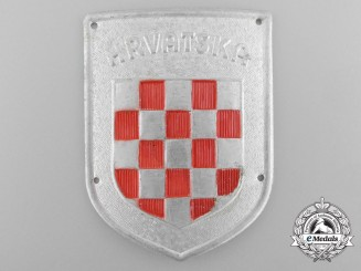 A Second War Italian-Croatian Legion Badge