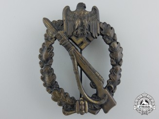 A Mint Bronze Grade Infantry Badge
