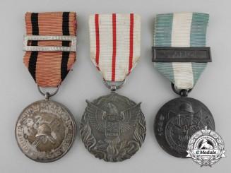 Portugal, Kingdom. A Lot of Three Combat Medals & Awards