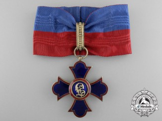 An Order of Merit of Liechtenstein; Commander's Cross
