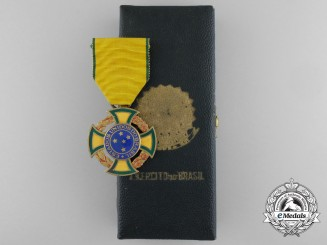 A Second War Brazilian War Cross 1942-1945 with Case