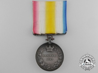 An 1842 Candahar Medal to Michael Rouke, 40th Regiment