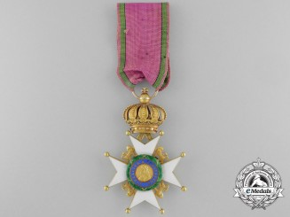 A Saxe-Ernestine House Order; Knight's Cross First Class