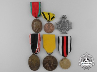A Lot of Six Imperial German Medals and Awards