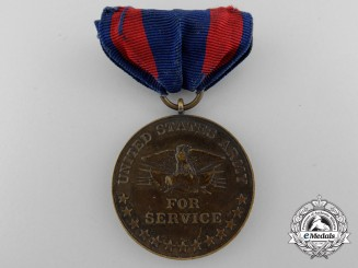 A Numbered 1899 American Philippine Insurrection Medal