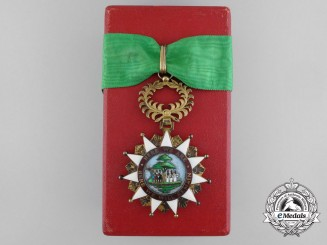 Liberia, Republic. A Most Venerable Order of Pioneers , Knight Commander, III Class, by A. Bacqueville