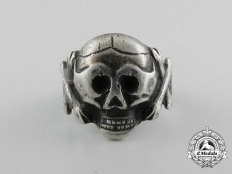 A Second War German Skull Ring
