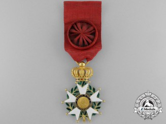 France, July Monarchy. A Legion D'Honneur; Officer in Gold,c. 1835