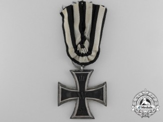 A Franco-Prussian War Iron Cross 2nd Class 1870; Marked