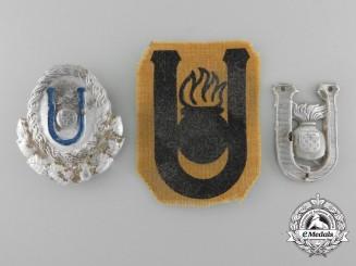 Three Second War Croatian Insignia
