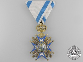 A Serbian Order of St. Sava; Fourth Class