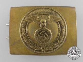 An Unusual SA Enlisted Man's Belt Buckle