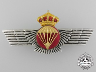 A Spanish Air Force Parachute Wings