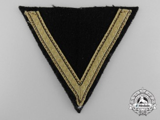 Germany, SS. A Sturmmann Tropical Rank Chevron