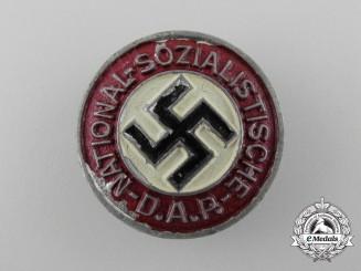 An NSDAP Member Badge by Assmann & Söhne