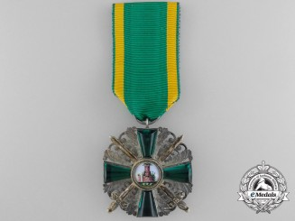 An Order of the Lion of Zahringen; Knight 2nd Class with Swords