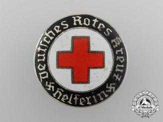 A German Red Cross Female Helper's Service Badge