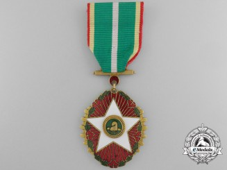 A Korean Order of Civil Merit; 4th Class (Mongnyeon Medal)