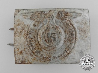 A Ground Found Waffen-SS NCO'S Belt Buckle