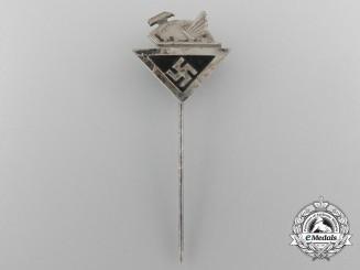 A German Culture Society Membership Stick Pin