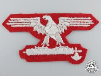 Italian SS EM/NCO's Sleeve Eagle