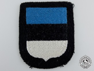 A Waffen-SS Estonian Volunteer Sleeve Shield