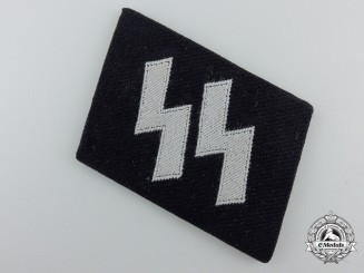 A Waffen-SS EM/NCO's Runic Collar Tab