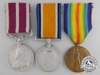 A First War Canadian Meritorious Service Medal Grouping