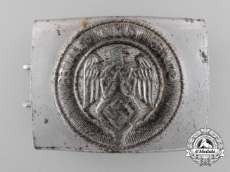 A HJ Member's Belt Buckle By Overhoff & Co., Lüdenscheid
