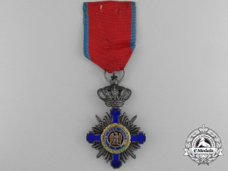 A Order of the Star of Romania; Knight with Swords