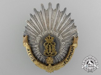 A First War Romanian Regimental Badge