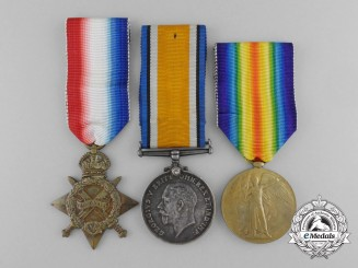 A First War Medal Group to the 13th Canadian Infantry CEF