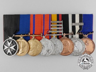 A South Africa & St. John's Ambulance Brigade Medal Group to Superintendent Orchard