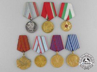 A Lot of Seven Communist-Era Medals