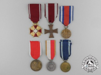 A Lot of Six Polish Medals
