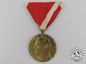 A Ustaše Medal of Poglavnik Ante Pavelić for Bravery