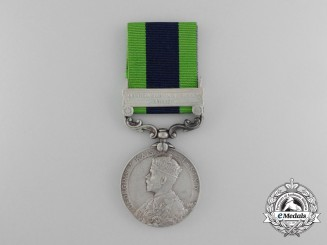 An India General Service Medal to the 40th Pathans
