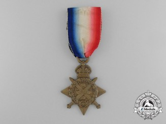 A 1914 Mons Star to the 2nd Battalion Highland Light Infantry