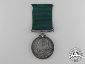 A Royal Naval Reserve Long Service and Good Conduct Medal