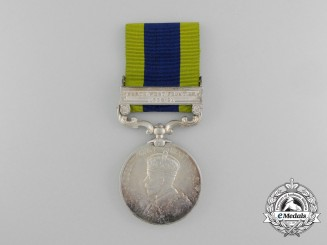 An India General Service Medal to South Waziristan Scouts