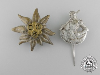 Germany, A Set of Two Civilian Membership Stick Pins