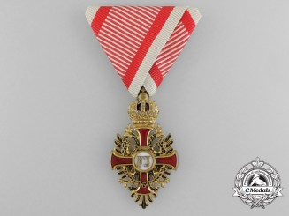 An Austrian Order of Franz Joseph by V.Mayer; Knight`s Cross