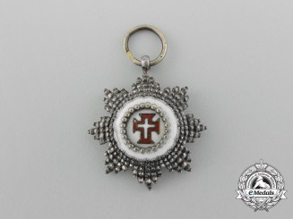 Portugal. A Miniature Military Order of Christ Breast Star, c.1900